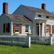 OldBethpage Village, NY: c. 1845 Richard Kirby House — Stock Photo