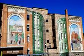 Wall Murals in Yonkers, New York — Stock Photo