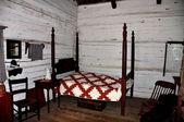 New Salem, Illinois: 1832 Martin Wadell Residence — Stock Photo