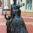Springfield, Illinois: Abraham Lincoln and Family Statues — Stock Photo