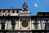 Brescia, Italy: Torre dell' Orologio — Stock Photo
