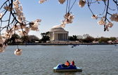 Washington, DC: Jefferson Memorial — Stockfoto