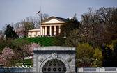 Arlington, VA:  Arlington House at Arlington National Cemetery — Stock Photo