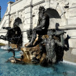 Washington, DC: Neptune Fountain at Library of Congress — Stock Photo #44978131