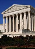 Washington, c.c.: u. s. supremo tribunal — Fotografia Stock