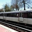 Arlington, Virginia: Metro Subway Train — Stock Photo