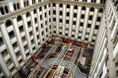 Washington,DC:  Atrium of Old Post Office Building — Foto de Stock