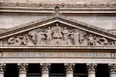 Washington, DC: Pediment of the United States Archives — Stock Photo
