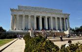 Washington, DC:  The Lincoln Memorial — Stock Photo