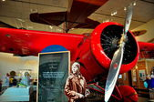 Washington, DC: Amelia Earhart Display at NASA Museum — Stock Photo