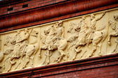 Washington, DC: Bas Relief Frieze on National Building Museum — Stock Photo
