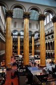 Washington, DC: Atrium of National Building Museum — Foto de Stock
