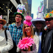 Постер, плакат: NYC: People at Easter Parade