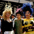 Постер, плакат: NYC: Having Fun at the Easter Parade