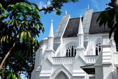 Singapore: St. Andrew's Episcopal Cathedral — Stock Photo