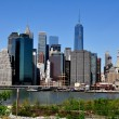 Lower Manhattan skyscrapers — Stock Photo #46178521