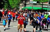 NYC: AIDS Walk 2014 — Stock Photo