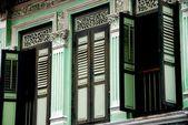 Singapore: Little India Shop House on Dunlop Street — Stock Photo