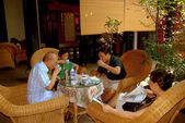 Luo Dai, China: People Sipping Tea — Stock Photo