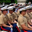 NYC: U.S. Marines at Memorial Day Ceremonies — Stock Photo