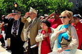 NYC: Memorial Day Holiday Ceremonies — Stock Photo