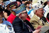NYC: War Veterans at Memorial Day Ceremonies — Stock Photo