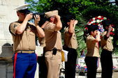 NYC: New Jersey ROTC Cadets at Memorial Day Ceremonies — Stock Photo