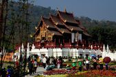 Chiang Mai, Thailand: Royal Pavilion in Exposition Park — Stock Photo