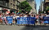 NYC: 2014 Gay Pride Parade — Stock Photo
