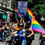 NYC: 2014 Gay Pride Parade — Stock Photo #48956171
