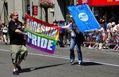 NYC: 2014 Gay Pride Parade — Fotografia Stock