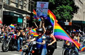 NYC: 2014 Gay Pride Parade — 图库照片