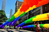 Nyc: 2014 gay pride parady — Fotografia Stock