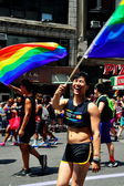 NYC: 2014 Gay Pride Parade — Foto de Stock