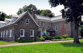 NYC: 1748 Van Cortlandt Manor House Museum — Stock Photo