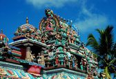 Penang, Malaysia: Hindu Temple at Penang Hill — Stock Photo