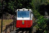 Penang, Malaysia: Funicular Railway on Penang Hill — Stock Photo