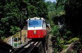 Penang, Malaysia: Penang Hill Funicular — Stock Photo