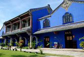 Georgetown, Malaysia: Cheong Fat Tze Mansion — Stok fotoğraf