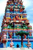 Georgetown, Malaysia: Hindu Temple — Zdjęcie stockowe