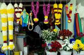Georgetown,Malaysia: Florist Shop in Little India — Stock Photo