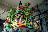 Georgetown, Malaysia: Penang Nagarathar Sivan Hindu Temple — Stock Photo