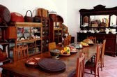 Georgetown, Malaysia:  Peranakan Museum Kitchen — Stock Photo