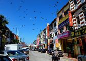 Georgetown, Malaysia: Little India Shops — Stock Photo