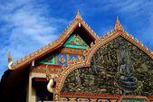 Georgetown, Malaysia: Wat Buppharam — Stock Photo