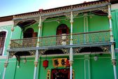 Georgetown, Malaysia: Peranakan Museum — Stock Photo