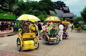 Malaysia: Tri-shaw Taxis — Stock Photo