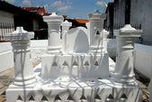 Melaka, Malaysia: Hang Kasturi Tombs — Stockfoto