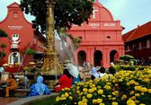 Melaka, Malaysia: 1753 Christ Church — Stock Photo