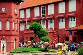 Melaka, Malaysia: 1650 Dutch Stadthuys — Stock Photo